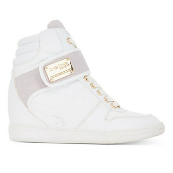 18926f6614ad bebe Shoes - Bebe Sport Colby Wedge Sneakers